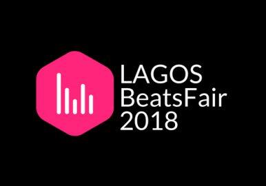 Black, White and Pink Soundwaves DJ Queens Logo